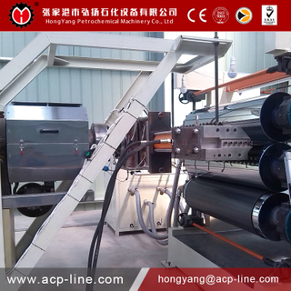 Vertical Three Roller ACP Line